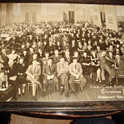 SALE 1942 COKE Memorabilia/Coca-Cola Bottling Co. Christmas Party Rhode Island Framed Photo!