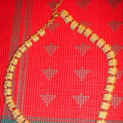 Beautiful Napier Gold Tone Necklace 41 Links!