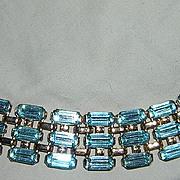 Rhinestone Goldtone Bracelet