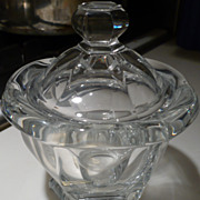 Baccarat Crystal Covered Candy Dish