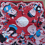 1930's Merrie Melodies Scarf