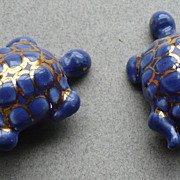 Ceramic Turtle Earrings