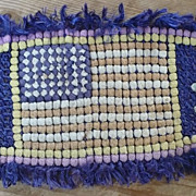 American Flag Pom Pom Art