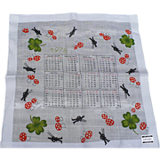 1978 Calendar Handkerchief
