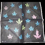 Faith Austin Leaf Handkerchief