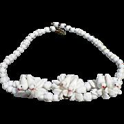 Lovebirds Glass Necklace