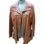 SALE 70's Leather Jacket