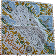 Nebraska State Handkerchief