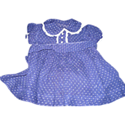 SOLD Girl's Dotted Swiss Dress