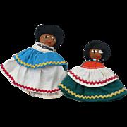 Pair Seminole Dolls