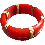 Nautical Bakelite Bracelet