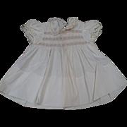 SOLD Child's Smocked Dress