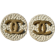 Jeff Lieb Chanel Earrings