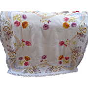 Deco Embroidered Tablecloth