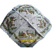 Mt Rainier Handkerchief