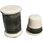 Thimble & Thread Salt & Pepper Set