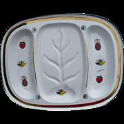 Briard Enamel Platter