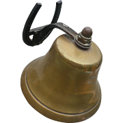 Brass Bell  with Horseshoe