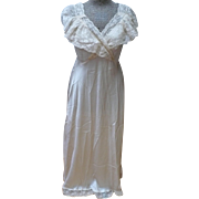 SALE Silk Full Length Nightgown