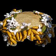SOLD 1950's Banana Hat