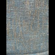 Multicolor Tweed Rayon Silk Linen Fabric