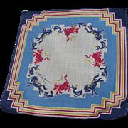 Tom Lamb Animal Handkerchief