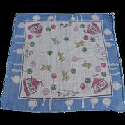 Carousel Child's Handkerchief