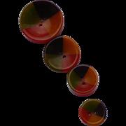 Four Color Bakelite Buttons