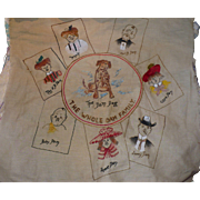 Dam Family Embroidered Picture
