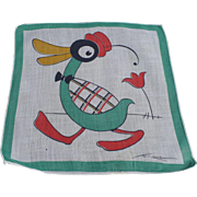 Tom Lamb Duck Handkerchief