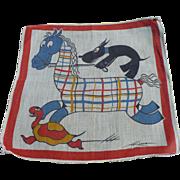 Tom Lamb Running Horse Handkerchief