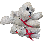 1950's Stuffed Poodles Musical
