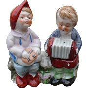 Seated Children Salt & Pepper Set