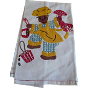 Black Lobster Chef Towel