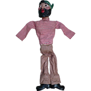 Handmade Pirate Puppet