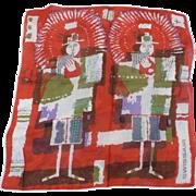 Swissair Handkerchief