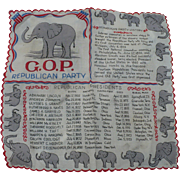 GOP Republican Handkerchief