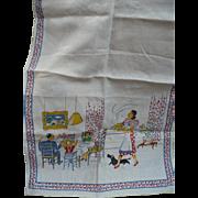 Family Print Towel