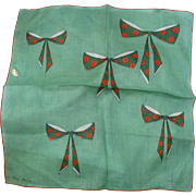 Faith Austin Bow Handkerchief