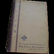 Infant Welfare Cookbook 1935