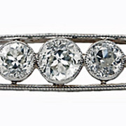 SALE Marcus & Co Art Deco Diamond Brooch