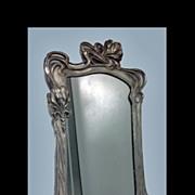 SALE Art Nouveau Mirror, attr Argentor, Austria C.1900.