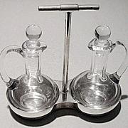SALE Christopher Dresser designed Cruet Stand C.1880 Elkington & Co