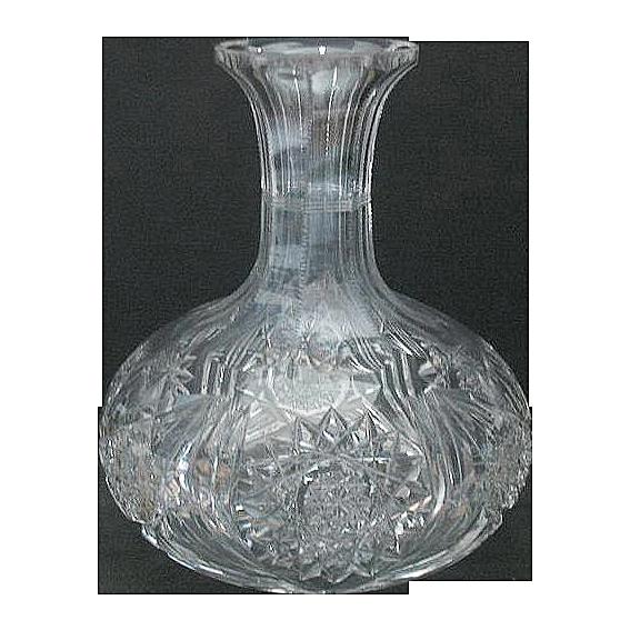 American Brilliance Captain's Water Bottle, c 1900 - American.