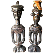 Ndengese Ancestral Figures, Tribally Used