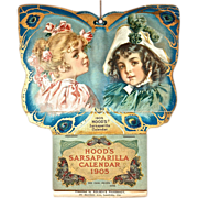1905 Hood's Sarsaparilla Calendar - Artwork by Maud Humphrey