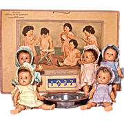 DIONNE QUINTUPLETS - Mdm Alexander Dolls, Calendar & Dish