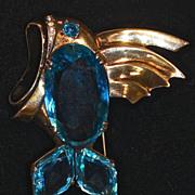 SOLD Signed Eisenberg Original Flying Fish - LARGE & RARE!