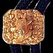 DALL SHEEP 12K Gold Bolo Tie