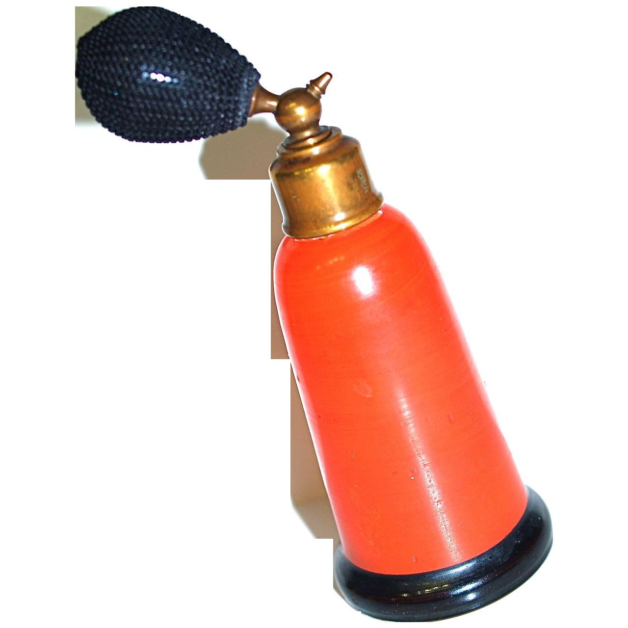Tango Orange Czech Perfume Atomizer